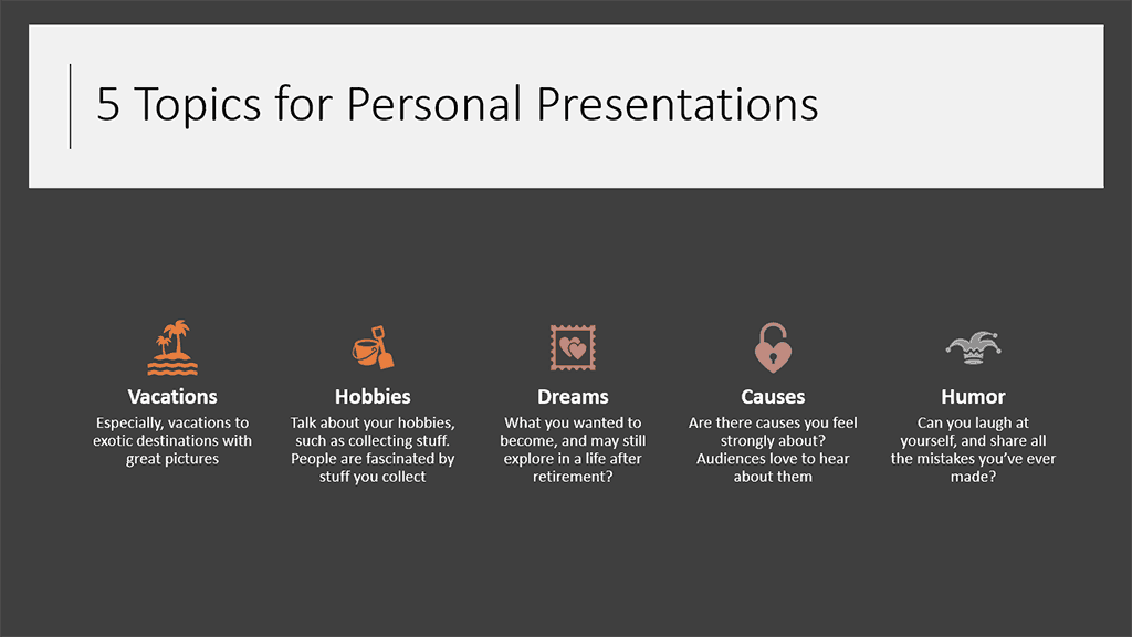 SmartArt With Icons from PowerPoint Designer in PowerPoint 365 for Windows