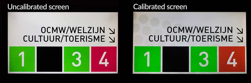 Uncalibrated versus Calibrated