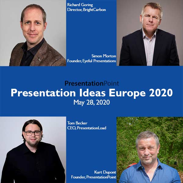 Presentation Ideas Europe Online Conference 2020