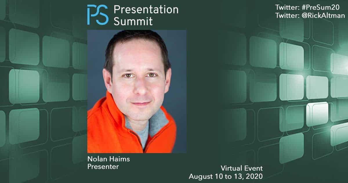 Presentation Summit Nolan Haims 2020