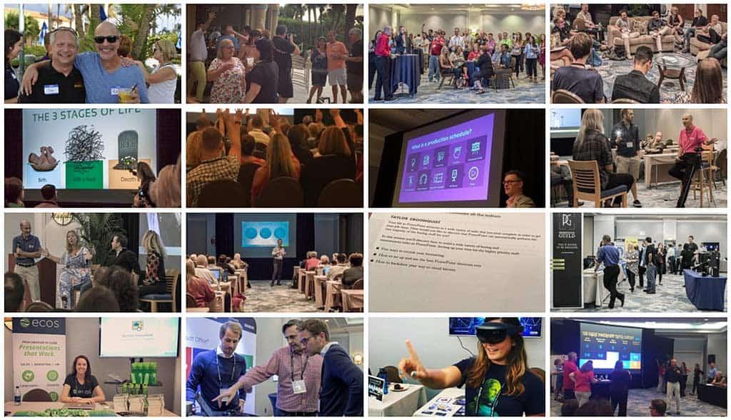 Presentation Summit 2020 Collage