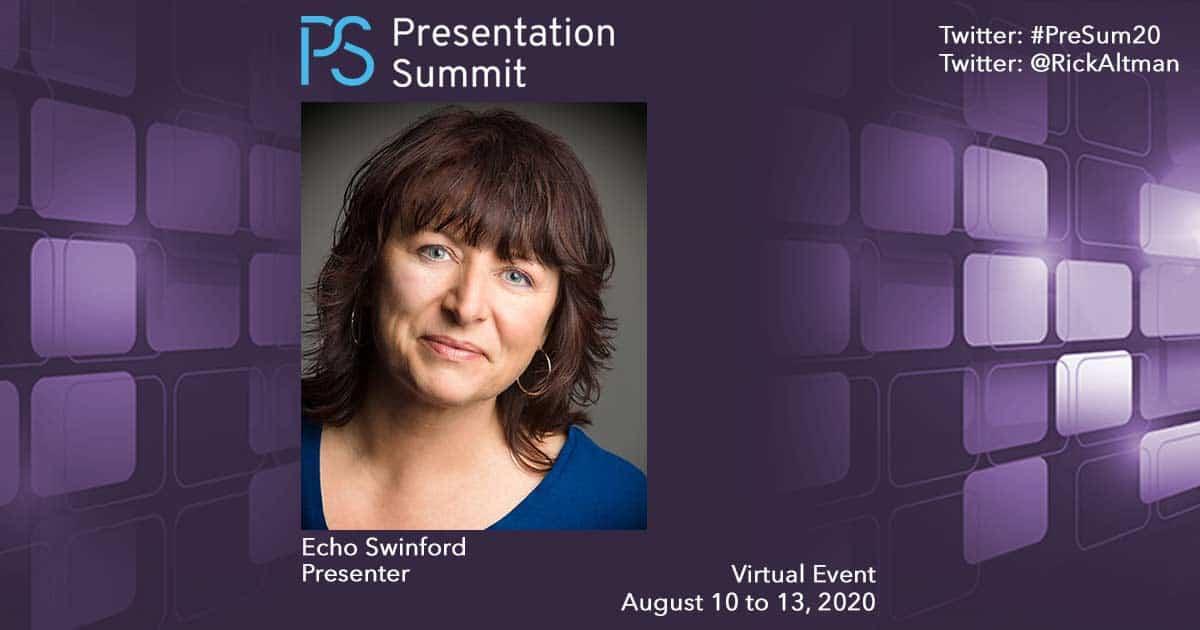 Presentation Summit Echo Swinford 2020