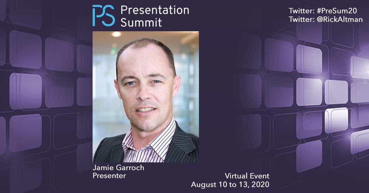 Presentation Summit Jamie Garroch 2020