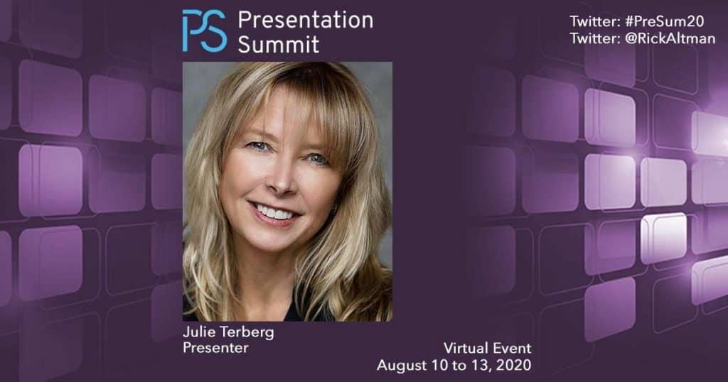 Presentation Summit Julie Terberg 2020