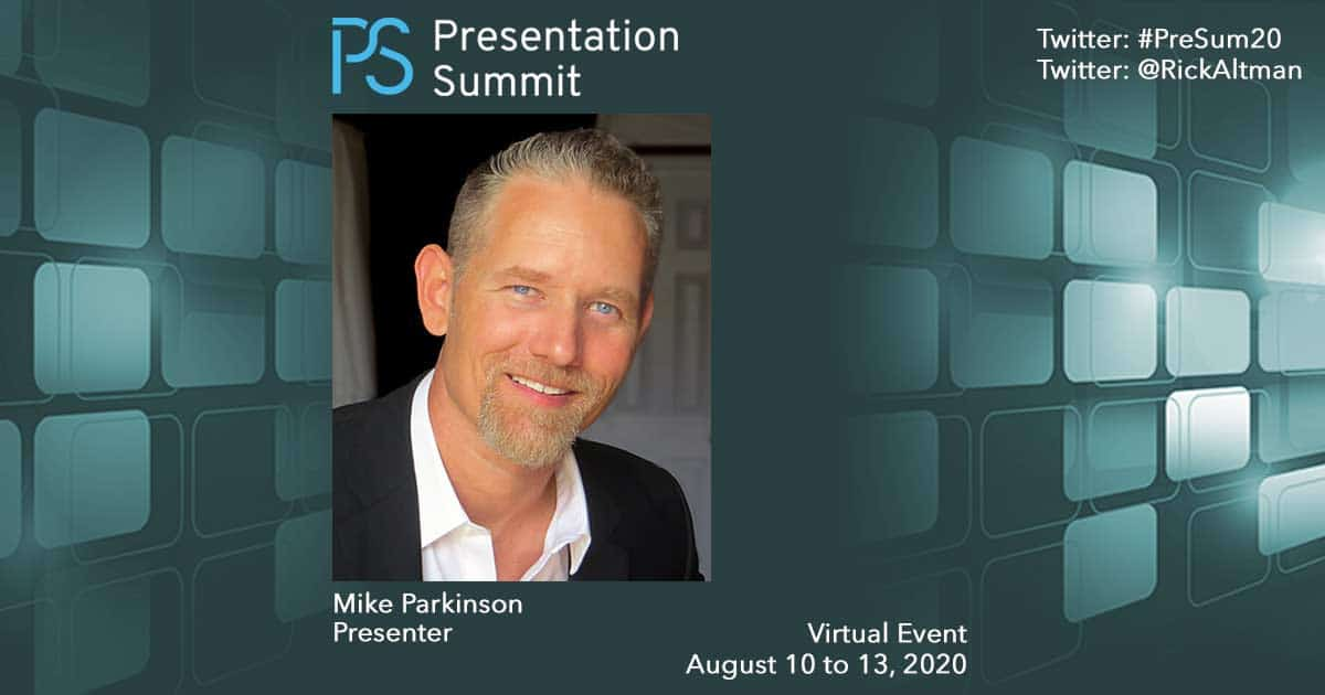 Presentation Summit Mike Parkinson 2020