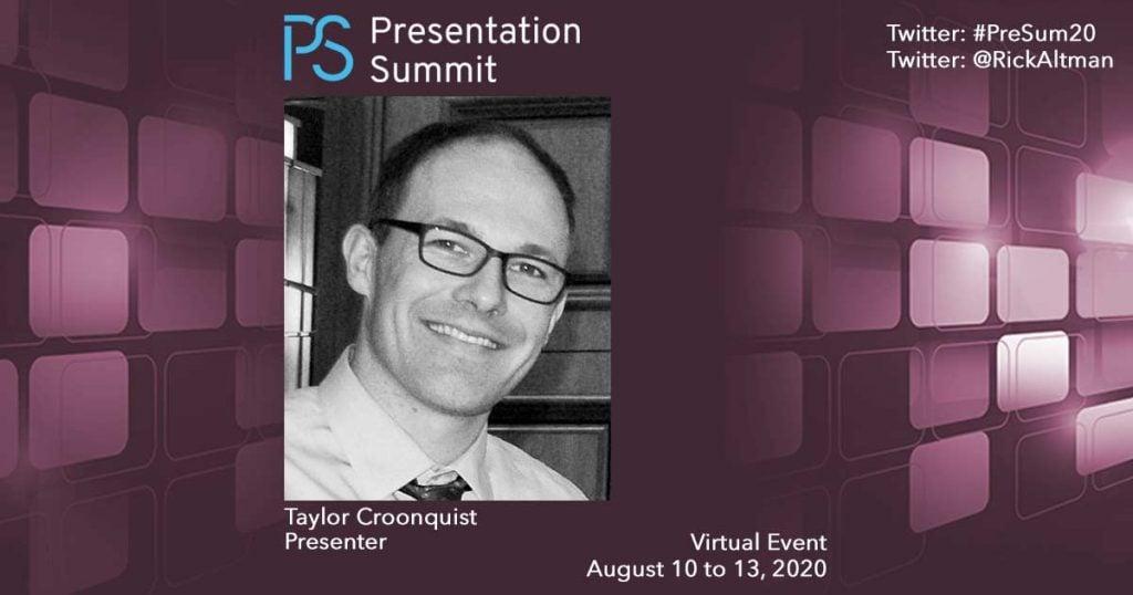 Presentation Summit Taylor Croonquist 2020