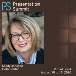 Presentation Summit 2020: Conversation with Sandy Johnson