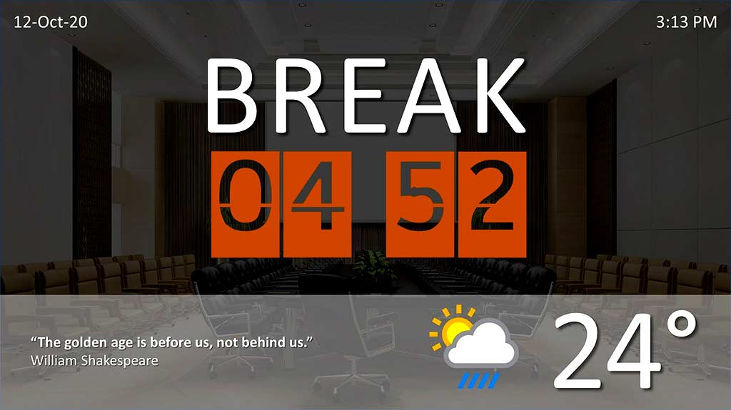 BreakPoint for Countdown, Live Clocks, Weather: Conversation with Kurt Dupont