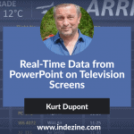 Real-Time Data from PowerPoint on Television Screens