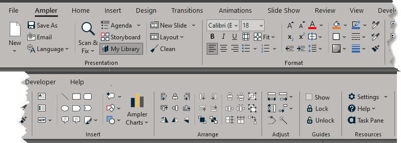 Ampler Toolbar