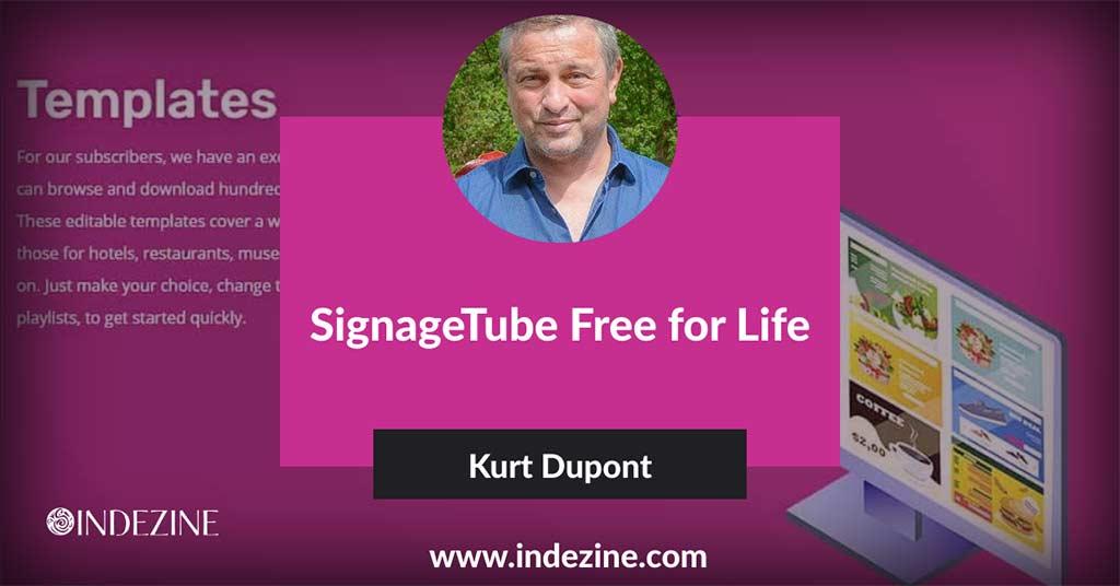 SignageTube Free for Life