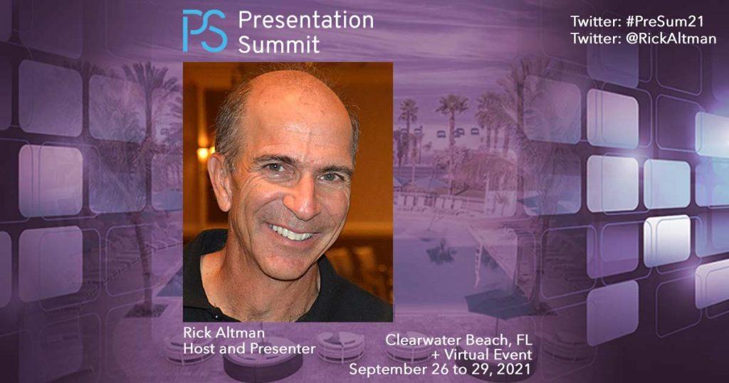 Presentation Summit Rick Altman 2021