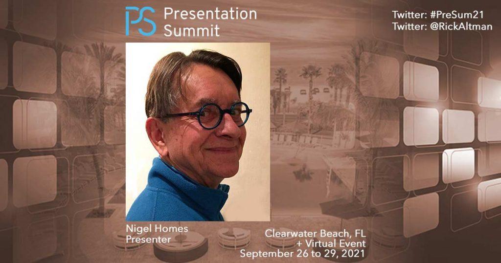 Presentation Summit 2021: Conversation with Nigel Holmes