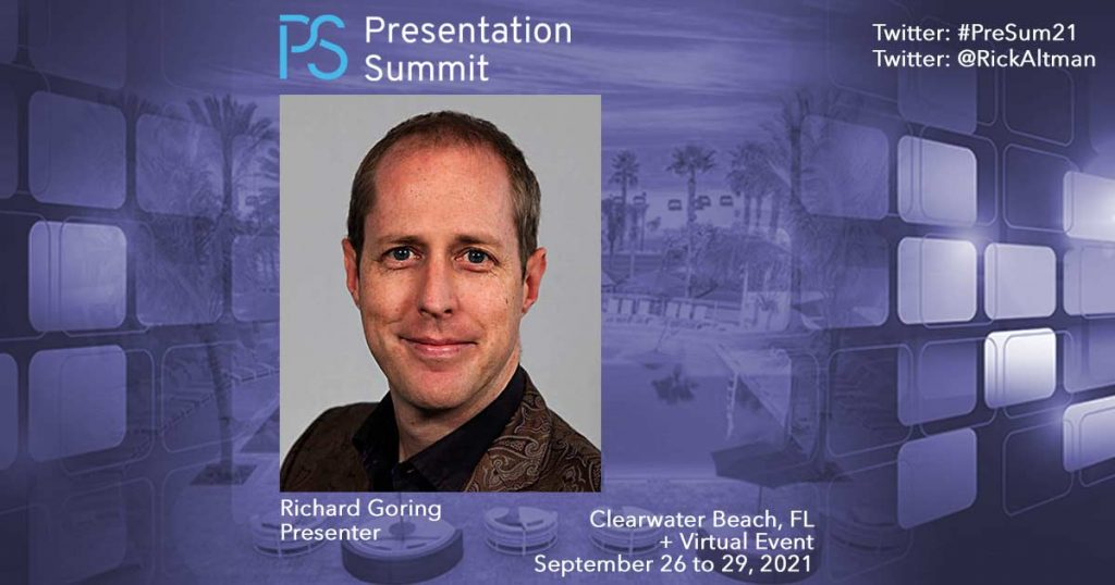 Presentation Summit Richard Goring 2021