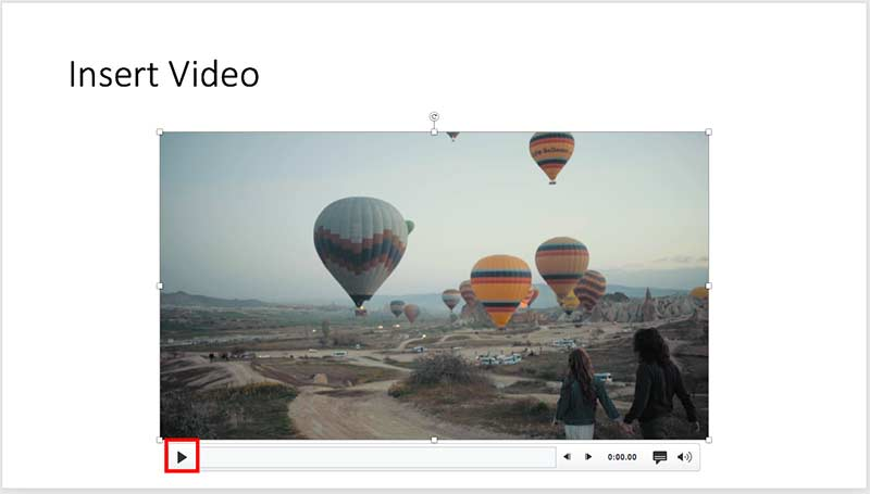 Insert Video Clips in PowerPoint 2019 for Mac