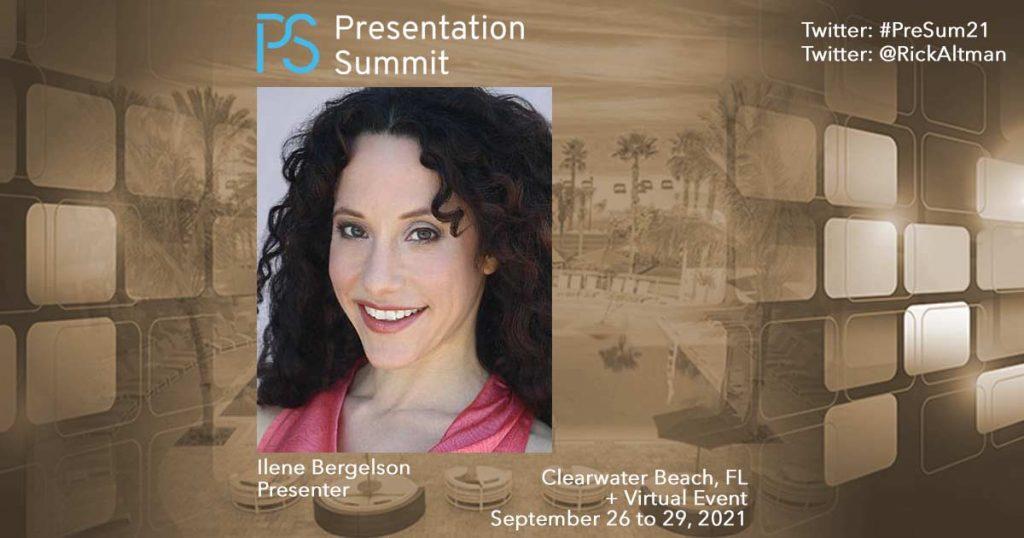 Presentation Summit 2021: Conversation with Ilene Bergelson