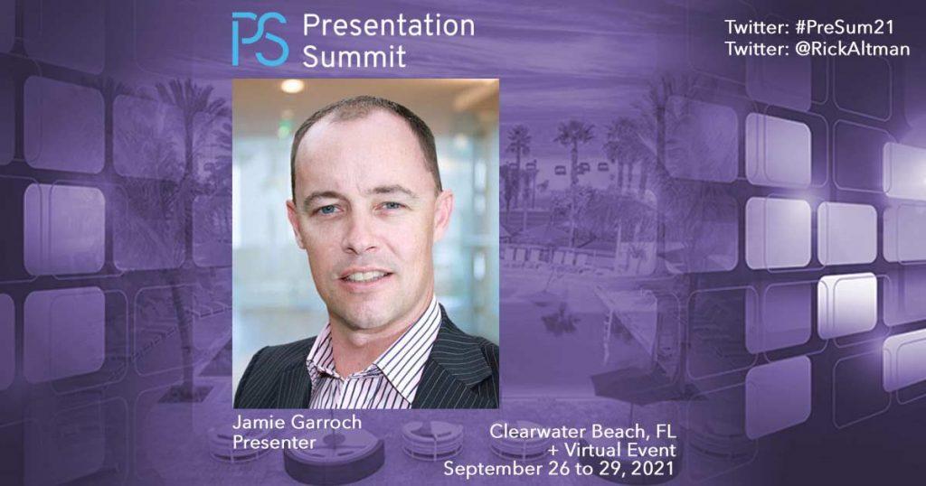 Presentation Summit 2021: Conversation with Jamie Garroch
