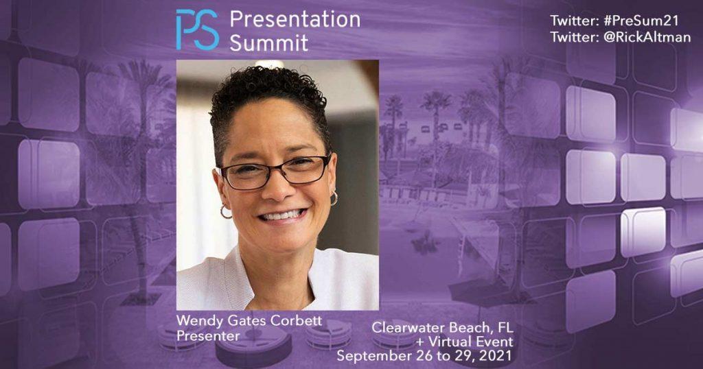 Presentation Summit 2021: Conversation with Wendy Gates Corbett